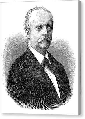 Hermann Von Helmholtz Canvas Print by Science Photo Library
