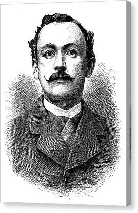 Hermann Von Wissmann Canvas Print by Bildagentur-online/tschanz