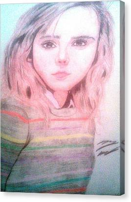 Hermione Granger Canvas Print by Corey Hopper