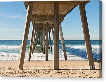 Hermosa Beach Pier Canvas Print