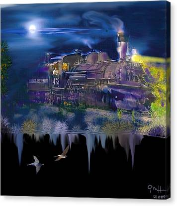 Hermosa Night Canvas Print