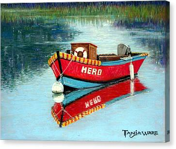 Hero Canvas Print by Tanja Ware