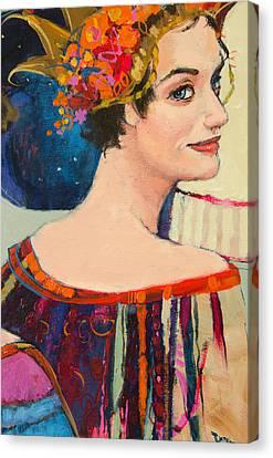 Heroine Canvas Print by Jennifer Croom