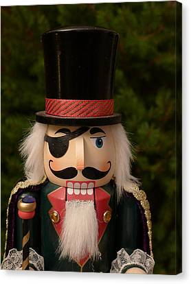 Herr Drosselmeyer Nutcracker Canvas Print