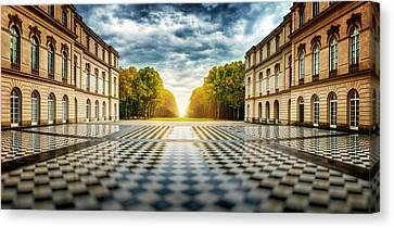 Herrenchiemsee Palace. Canvas Print by Juan Pablo De