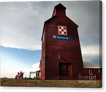 Herrick Mill Sd Canvas Print by AntiHero Panigale
