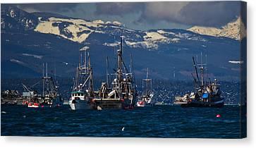 Herring Fishery Canvas Print by Randy Hall