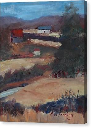 Herschel Hudson Plein Air Canvas Print