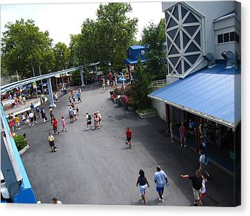 Hershey Park - 12124 Canvas Print by DC Photographer