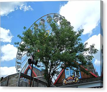Hershey Park - 121243 Canvas Print by DC Photographer