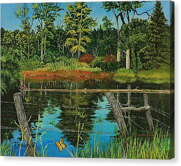 Hesperus Pond Canvas Print
