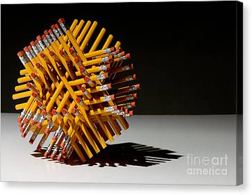 Hexastix Canvas Print