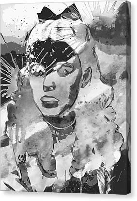 Hey Judy  Canvas Print by Empty Wall