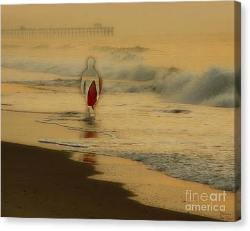 Hey What Happened To Bob Canvas Print by Jeff Breiman