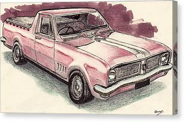 Hg Holden Ute Canvas Print