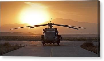 Hh-60 Pavehawk Canvas Print by Tim Grams