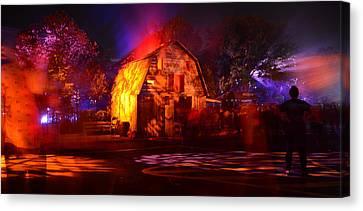 Hhn 23 Street Scene B Canvas Print by David Lee Thompson