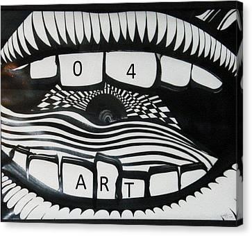 HI Canvas Print by David King