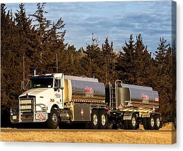 Hi-line Coop Tanker Canvas Print
