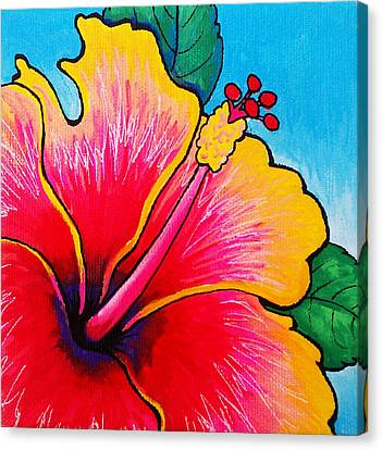 Hibiscus 01 Canvas Print