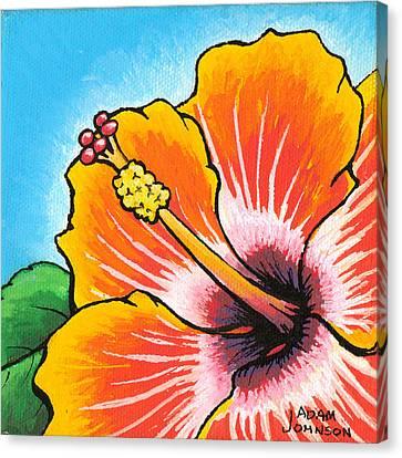 Hibiscus 04 Canvas Print