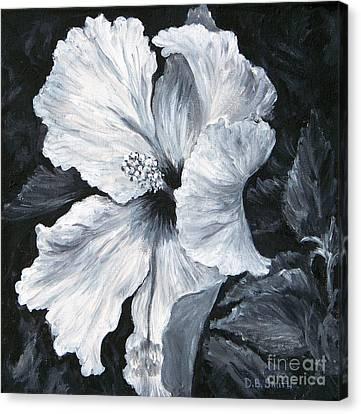 Hibiscus 1 Canvas Print