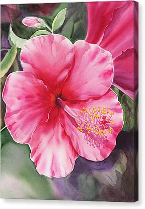 Hibiscus Canvas Print - Hibiscus by Irina Sztukowski