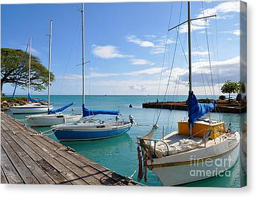 Hickam Harbor Canvas Print