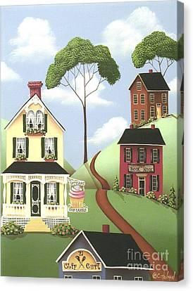 Hickory Grove Canvas Print by Catherine Holman