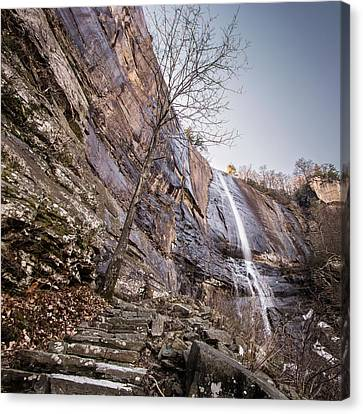 Hickory Nut Falls Canvas Print