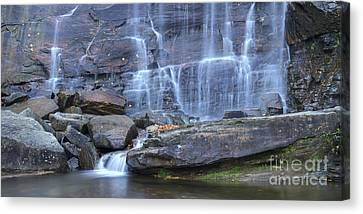 Hickory Nut Falls Waterfall Canvas Print by Dustin K Ryan