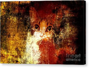 Hidden Canvas Print by Andee Design