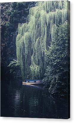Rowboat Canvas Print - Hidden Beauty by Joana Kruse