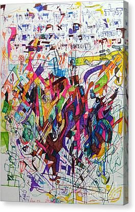 Hidden Canvas Print by David Baruch Wolk