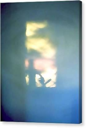Hidden Doorway Within Canvas Print