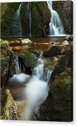 Hidden Falls Canvas Print by Matt Dobson
