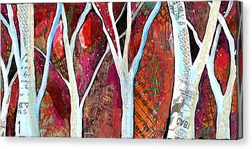 Hidden Forest I Canvas Print by Shadia Derbyshire
