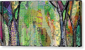Hidden Forests II Canvas Print by Shadia Derbyshire