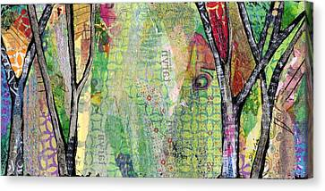 Hidden Forests IIi  Canvas Print by Shadia Derbyshire