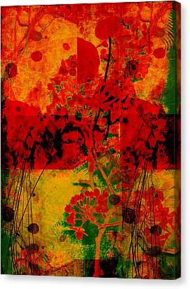 Hidden Garden Canvas Print by Ann Powell