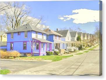 Hidden Gems Of Ann Arbor #1 Canvas Print by MJ Olsen
