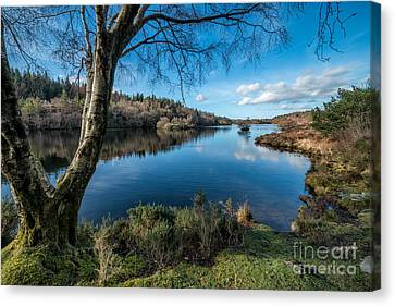 Hidden Lake Canvas Print by Adrian Evans