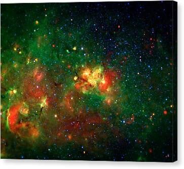 Hidden Nebula Canvas Print