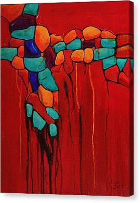 Hidden Nuggets Canvas Print by Nancy Jolley