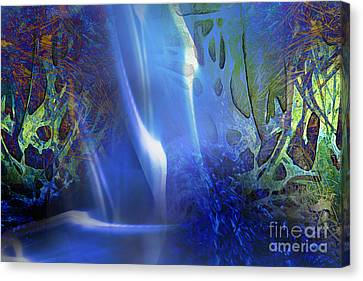 Hidden Streams Canvas Print