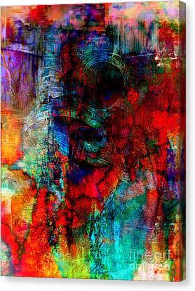 Faniart Africa America Canvas Print - Hidden Treasure by Fania Simon