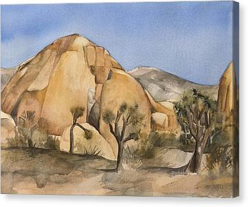Canvas Print - Hidden Valley In Joshua Tree by Lynne Bolwell