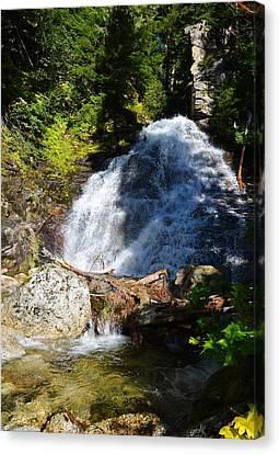 Hidden Waterfall 4 Canvas Print by Randy Giesbrecht
