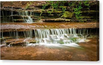 Hidden Waterfall Canvas Print by Jen Morrison