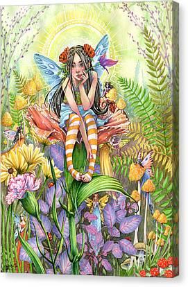 Hide And Seek Canvas Print by Sara Burrier